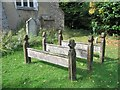 SP8904 : Wooden Grave Markers, Lee, Buckinghamshire by Gerald Massey