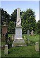 NX2299 : A Covenanters memorial in Old Dailly Churchyard by Walter Baxter