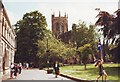 SJ6552 : St. Mary's parish church, Nantwich by nick macneill