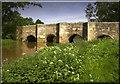 SP7233 : Thornborough Mediaeval Bridge by Cameraman