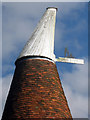TQ6934 : Cowl of Shearnfold Oast by Oast House Archive