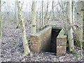 TQ5247 : World War 2 air raid bunker by Hywel Williams