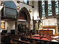 TQ1876 : St Luke's church, Kew - chancel by Stephen Craven