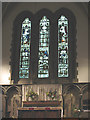TQ1876 : St Luke's church, Kew - east window by Stephen Craven