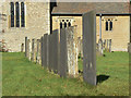 SK7149 : Gravestones at Bleasby : Week 41