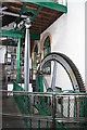 SJ8397 : The Haydock Colliery beam engine. by Chris Allen