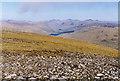 NN3741 : View east from Beinn Mhanach by Nigel Brown