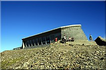 SH6054 : Hafod Eryri - Snowdon Summit Visitor Centre by Jeff Buck