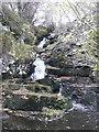 NN9349 : Waterfall on Balnaguard Burn by Russel Wills