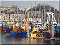 SX4854 : Fishing boats in Sutton Harbour : Week 43