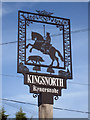 TR0039 : Kingsnorth Village Sign by Oast House Archive