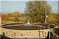 TL0998 : Filtration tank at Stibbington sewage works by Andy F
