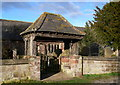 SJ5055 : Lych Gate, All Saints Church, Harthill by Eirian Evans