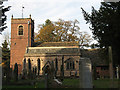 SJ8067 : St Peter's church, Swettenham by Stephen Craven
