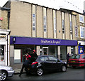 SE1422 : Bradford & Bingley - Commercial Street by Betty Longbottom