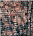 SE2424 : Section of brick wall, English garden wall bond, East Bath Street, Batley by Tom Jolliffe