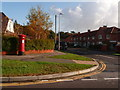 SY9793 : Upton: postbox № BH16 199, Moorland Way by Chris Downer