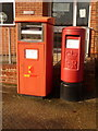 SY9288 : Wareham: postbox №s BH20 2000 and BH20 400, Sandford Lane by Chris Downer