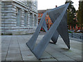 J3372 : Modern sculpture, Belfast (2) by Kenneth  Allen