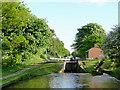 SJ6542 : Audlem Locks No 10, Shropshire Union Canal, Cheshire by Roger  Kidd