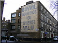 TQ3278 : Ghost sign 'Bovril Nourishes you to resist Flu' by PAUL FARMER