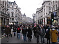 TQ2981 : Regent Street - Shop West End VIP Day-05 Dec 2009 by Rib