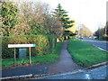 TL4259 : Lansdowne Road by Richard Humphrey
