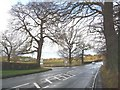 SJ7575 : Junction of the A50 and the B5081 by Christine Johnstone
