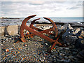 J6370 : Old anchors near Ballywalter : Week 50
