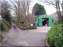 SW7644 : Entrance to the West of England Sack Company premises by Rod Allday