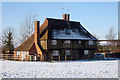 TQ7546 : Underlynn Farm Cottages, Underlyn Lane, Marden, Kent by Oast House Archive