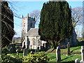 SX0771 : Helland Church by Bill Henderson
