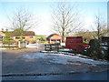 SP8120 : Entrance to Beechmoor Farm Shop by John Firth