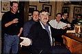 T1559 : Gorey - Main Street - Quinn's Lounge patrons by Joseph Mischyshyn