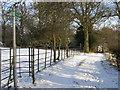 SU7490 : Footpath down to Balham's Lane by Shaun Ferguson