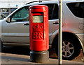 J3374 : Pillar box. Belfast by Albert Bridge