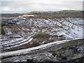 SX8476 : Track into Newbridge ball clay quarry (2) by Robin Stott