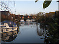 TL6475 : Riverside Island Marina by Hugh Venables