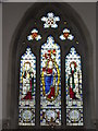 SU7691 : East Window, Turville Church by Colin Smith