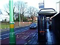 SP0590 : Bus Stop, Wellington Road by Michael Westley