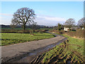 ST5857 : Lane in North Widcombe by Rick Crowley