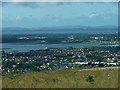 SU6205 : View over Gosport to the Isle of Wight by Chris Gunns