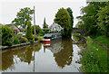 SJ6152 : Llangollen Canal by Swanley Bridge, Cheshire by Roger  Kidd