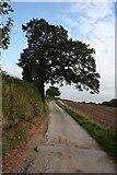 SJ7445 : Public bridleway/farm road to Checkley Wood Farm by Dave Dunford