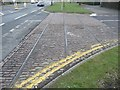 SE1529 : Tram Tracks across Netherlands Avenue, Odsal by Humphrey Bolton