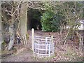 TQ8430 : Kissing gate near Great Maytham by David Anstiss