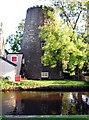 SD4910 : Parbold windmill. by Chris Denny