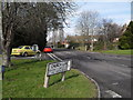 SU9006 : Cars filtering into Tangmere Road from Church Lane by Basher Eyre