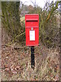 TM3373 : Crossways Postbox by Adrian Cable