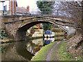 SJ6386 : Bridgewater Canal, Stanny Lunt Bridge by David Dixon